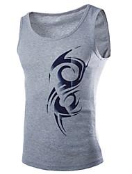 Manni Men's Casual Sleeveless Vests (Cotton)