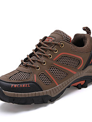 Men's Hiking Shoes Tulle Brown/Green/Gray