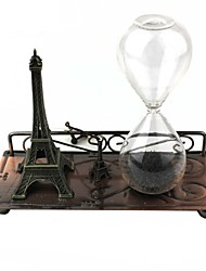 Glass Magnetic Force The Hourglass Eiffel Tower Desktop Home Furnishing Decoration