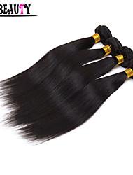 "4Pcs/Lot 8""-28"" Malaysian Virgin Hair Natural Black Straight 5A Unprocessed Remy Human Hair Bundles Queen Hair Products"