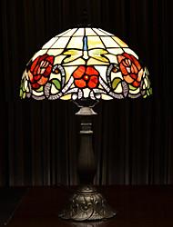Vídrio - Lámparas de Escritorio - Multi tonos - Tiffany