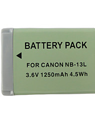 13L 1250mAh  Camera Battery for Canon PowerShot G7 X
