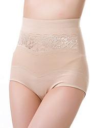 Para Mujer Bragas Panti Modelador - Algodón/Poliéster
