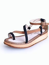 Women's Shoes  Platform Platform/Comfort/Open Toe Sandals Casual Black/Red