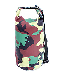 Panniers e cremalheira Trunk/Waterproof Dry Bag ( Camuflagem , Nailom/Grade/Material á Prova-de-Água/Poliéster 300D , 5L L) Á