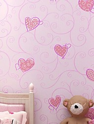 New Rainbow™ Contemporary Wallpaper Art Deco Rural Sweet Wallpaper Wall Covering Non-woven Fabric Wall Art