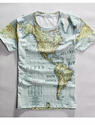 Herren Freizeit/Büro/Sport T-Shirt Kurz