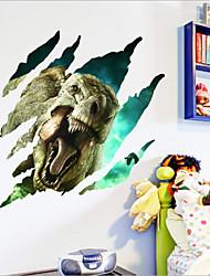 2015 novos jurássico parque de dinossauros adesivos de parede para quartos de crianças