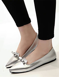 Women's Shoes Flat Heel Pointed Toe Flats Casual Black/Silver