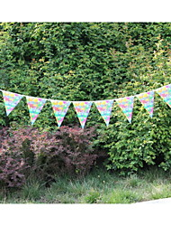 New Arrival Wedding  Paper Banner Bunting with Balloon