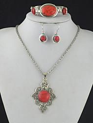 toonykelly® antigua turquesa de plata de época (pendiente y collar&pulsera) de la joyería de