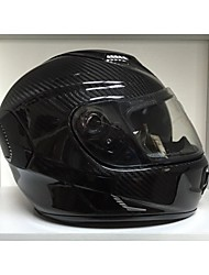 2015 New Carbon Motorcycle Helmet Full Face with Double Visors
