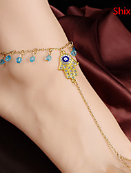 Shixin® Alloy Anklet Daily/Casual 1pc