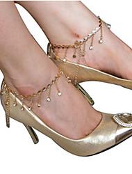 Lacci per scarpe Altro - Dorato )