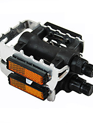 MTB Pedals Aluminum Pedals And A Half-Slip Foot Pedal Bike With Reflective Film