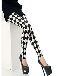 Women Print Legging,Cotton Blends Medium