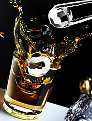 Alle blau (4 Stück) kreativ importierten Whisky neue rautenförmigen Edelstahl gefrorene Eiswürfel für bar