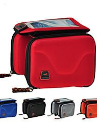 Bolsa para Cuadro de Bici / Bolso del teléfono celular Ciclismo Para A prueba de lluvia / Multifuncional / Pantalla táctil ,Rojo / Gris /