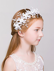Flower Girl's Alloy / Net Headpiece-Wedding / Special Occasion / Outdoor Wreaths 1 Piece