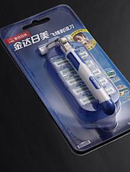 Japan US Stainless Steel Razor Knife Holder Razor Fly Front