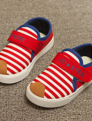 Childrens' Shoes Casual Canvas Loafers Blue/Red