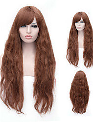 Europe and The Model of High Product Quality Is The Young Girl Will Prepare Brown Wig