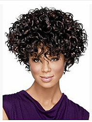 2015 New  Fashion African Short Curly Wig
