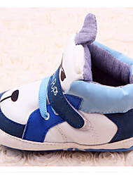 Baby Shoes - Casual - Sneakers alla moda - Finta pelle - Blu / Rosso