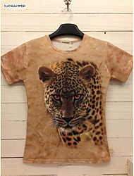 Hot New Summer Fashion Men's Short Sleeve 3D Print T-shirt(M-XXL)
