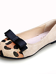 Women's Shoes  Flat Heel Comfort/Round Toe/Closed Toe Flats Casual Black/White