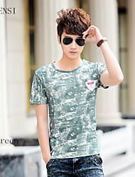 2015 summer new wind China t-shirt tee Mens T-shirt printing tide fashion leisure