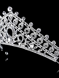 Women/Flower Girl Bridal Rhinestone Crystal Flower Cown Tiaras With Wedding/Party Headpiece Queen Stlye