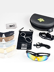 Basecamp Polarized TR90 Material Cycling Glasses with 6 lens Outdoor Sports Bicycle Sunglasses BC-102