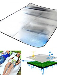 Double Aluminum film EVA Moisture-proof Pad Camping The Tent Pad Baby Crawling Sleep Picnic Mat