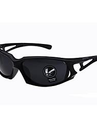 Gafas de Sol hombres's Clásico Envuelva Negro / Marrón / Azul Gafas de Sol Completo llanta