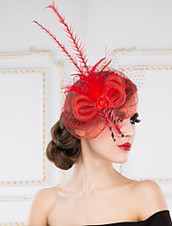 Women's Feather Headpiece - Wedding/Special Occasion Headbands/Fascinators 1 Piece
