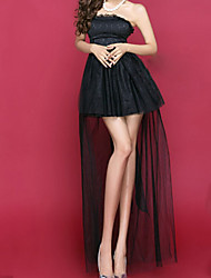 Women's A word Nightclub Show That Wipe A Bosom Dress Dress  (Chiffon)