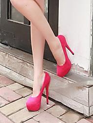 Zapatos de mujer Sintético Tacón Bajo Tacones Pumps/Tacones Boda/Fiesta y Noche Azul/Rojo