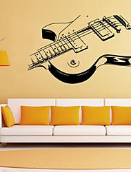 наклейки для стен стены наклейки наклейки стиль личности гитара ПВХ стены
