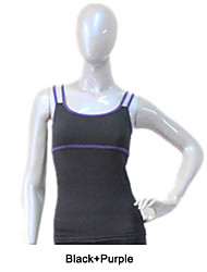 Cotton/Lycra Camisole Top Tight Fit More Colors for Girls and Ladies