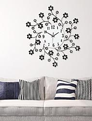 Modern European Art Deco Iron Design Wall Clock