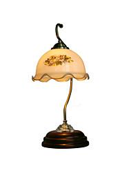 boxomiya® lampada da comodino lampada di illuminazione american vintage camera da letto soggiorno divenne lampade rurali