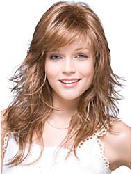 sem tampa de alta qualidade ondulado longo mono top remy virgem perucas de cabelo humano sete cores para escolher