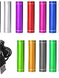de ji universele power bank externe batterij iphone ipad / Samsung / smartphones mobiele apparaten (diverse kleuren, 2600 mAh)