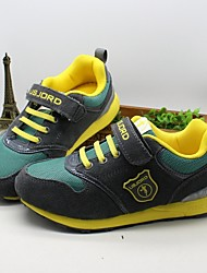 Boys' Shoes Athletic Fabric Fashion Sneakers Green