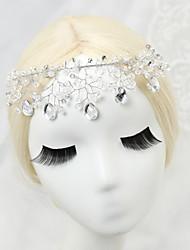 Cristal Alliage Imitation de perle Casque-Mariage Occasion spéciale Chaîne pour Cheveux