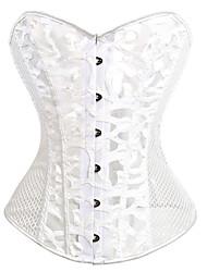 Gaine ( blanc , Polyester/Fil élastique , Net ) - pour Mariage - Vestes amincissantes