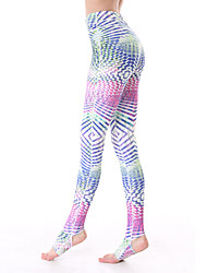 Yokaland Yoga Pants Body Shaper Fit Slim Yoga Ankle Legging With Palm Print Sports Wear