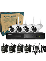 Ann® 4 CH H.264 Home Security System DVR Kit (4 pc IR-cut Outdoor Waterproof Camera, HDMI, USB  Wifi)