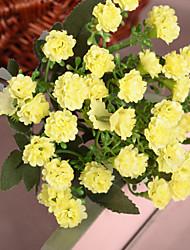 """11.8 """"l ensemble de 1 pays fleurs en tissu miraflor de style de soie lilas"""